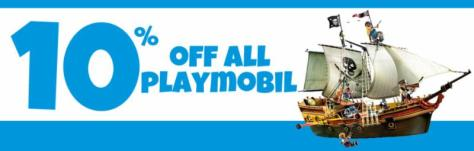 10% Off Playmobil