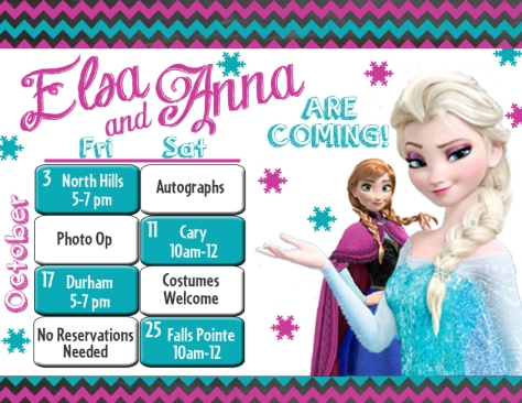 Frozen Event Oct
