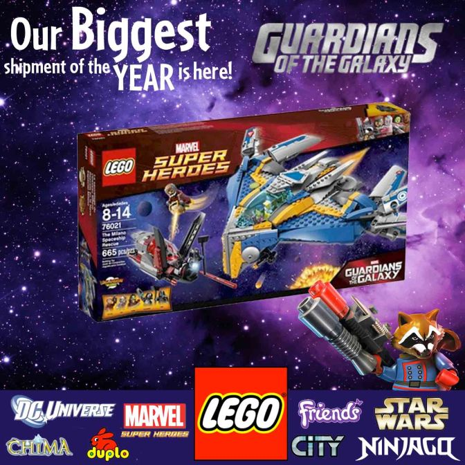 NEW 2014 Lego Has Arrived!