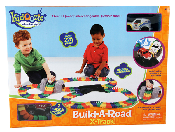 Build a Road X Track from Kidzooie