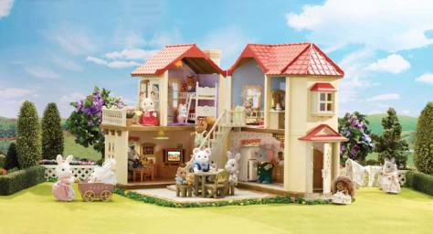 Calico Critters Townhome2