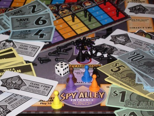 Spy Alley – The Game of Suspense and Intrigue