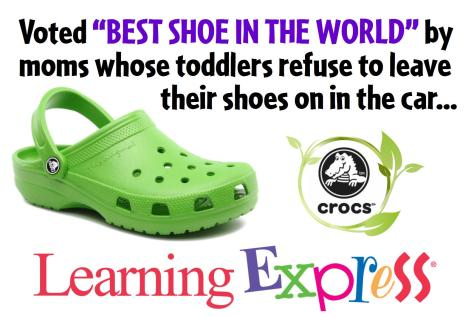 Yard Sign New Crocs Small