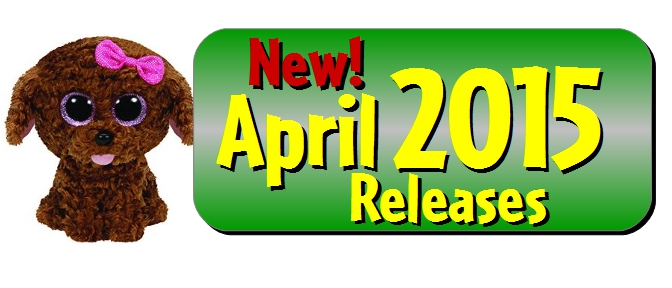 April 2015 Beanie Boo Releases