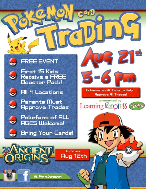 Learning Express Pokemon Trading 3