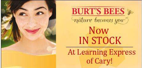 Burt's Bees now in Cary!
