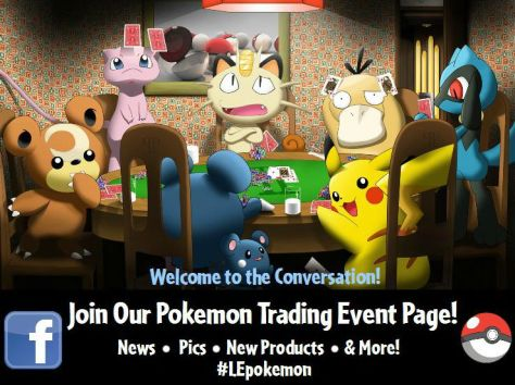 Pokemon Trading Event Learning Express Facebook