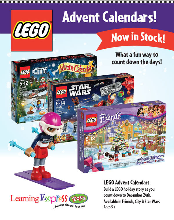 2015 Lego Advent Calendars are Here!
