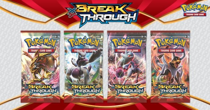 Pokemon XY BREAKthrough Cards