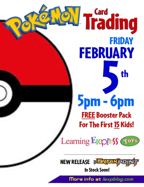 Pokemon 2016 Flyer